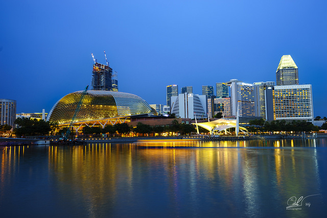 Singapore vẫn là nơi lý tưởng để chấp cánh ước mơ du học. Ảnh do anh Nguyễn Đăng Hiển chụp trong một lần công tác tại Singapore