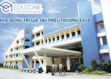 Học bổng EASB Singapore 2017: Trị giá lên đến 60% học phí