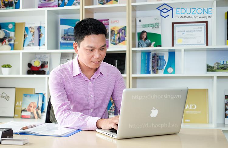 Anh Nguyễn Đăng Hiển - Giám đốc Công ty du học Eduzone