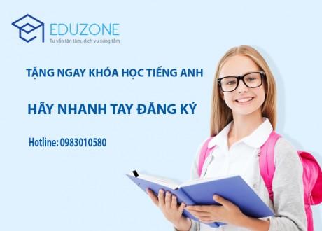 Tặng ngay khóa học tiếng Anh giao tiếp khi đăng ký du học Singapore