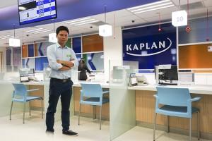Anh Nguyễn Đăng Hiển - Giám đốc Eduzone thăm và làm việc với trường Kaplan Singapore