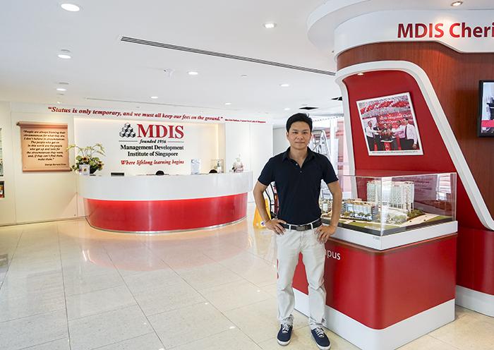 Anh Nguyễn Đăng Hiển thăm trường MDIS