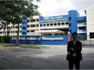 Anh Nguyễn Đăng Hiển (Giám đốc Eduzone) sang thăm Học viện EASB