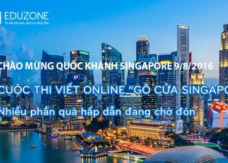 "Cuộc thi viết Online ""Gõ cửa Singapore"""