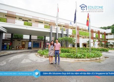 Eduzone nhận hồ sơ cho kỳ nhập học cuối cùng trong năm trường JCU Singapore 14/11/2016