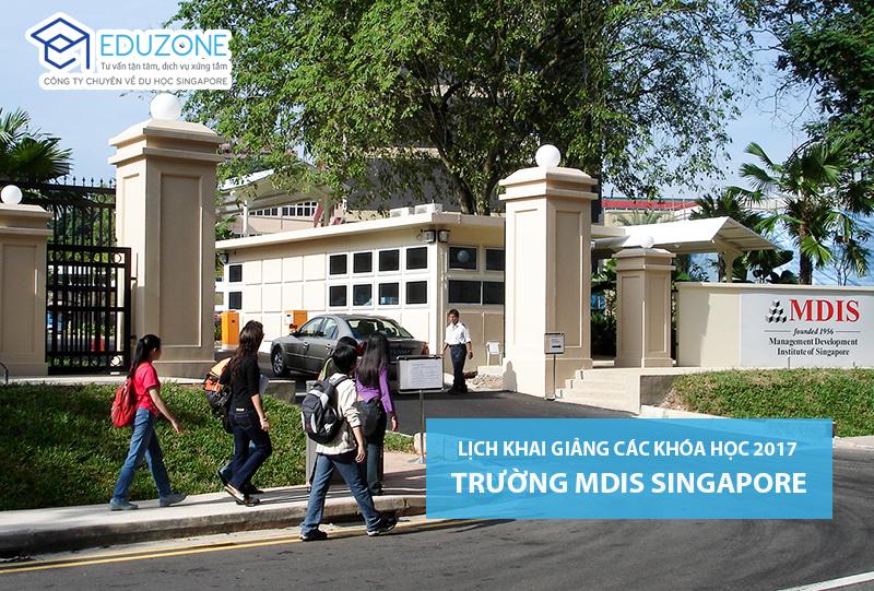 MDIS Singapore - Học viện phát triển quản lý Singapore