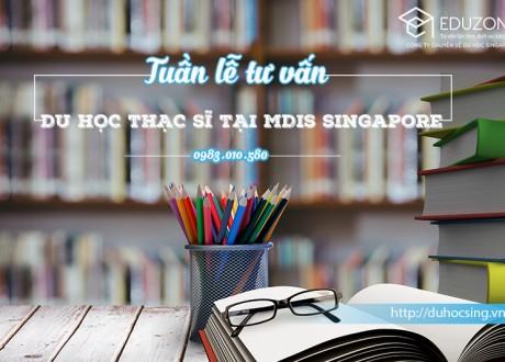 Tuần lễ tư vấn du học Trường MDIS Singapore