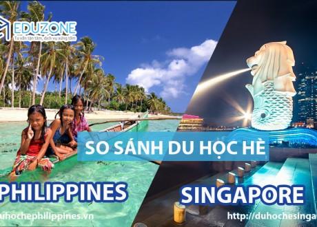 So sánh trại hè Anh ngữ tại Singapore và Philippines