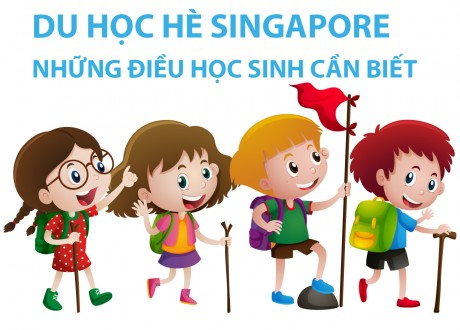 Những điều học sinh cần biết du học hè Singapore