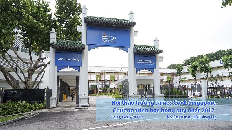 Hội thảo: Trường James Cook Singapore và học bổng duy nhất 2017