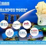 Campus Tour – Thăm quan 6 trường hàng đầu và du lịch Singapore (khởi hành 19/7)