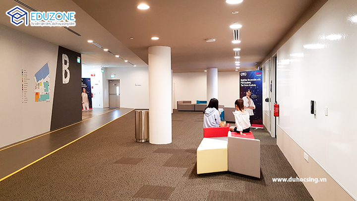 PSB là một trong những trường có cơ sở vật chất tốt nhất hiện nay ở Singapore