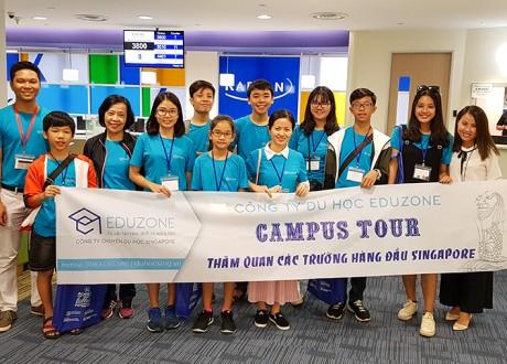 Hình ảnh Eduzone tổ chức Campus Tour