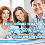 Học bổng 50% học phí của Kaplan Singapore