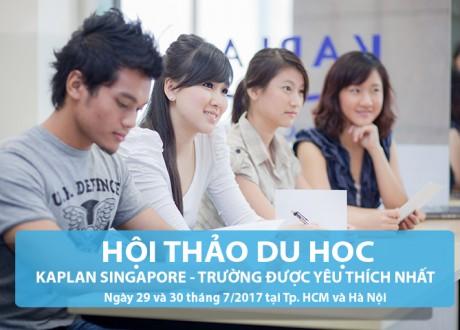 Hội thảo Du học Singapore: Học đại học chỉ 26 tháng đối với học sinh hết lớp 9 ở VN