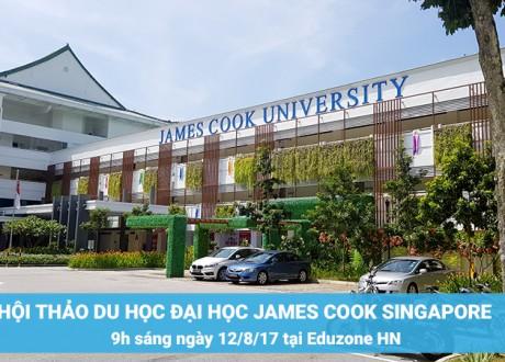 Hội thảo Đại học James Cook Singapore – Công bố học bổng 100% học phí