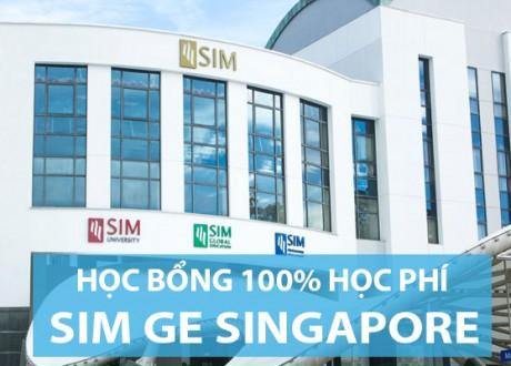 35 suất học bổng trị giá 100% học phí nhập học tại SIM Singapore
