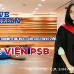Livestream: Chia sẻ thông tin và kinh nghiệm học tập tại PSB Singapore