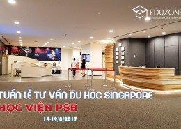 Tuần lễ tư vấn Du học Singapore tại Học viện PSB (14-19/8)