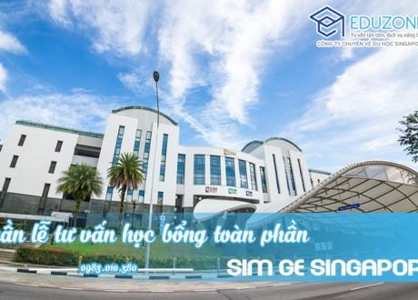 Tuần lễ du học Singapore trường SIM GE và học bổng 100% học phí