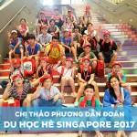 Lịch trình du học trải nghiệm Singapore Tết Mậu Tuất 2018