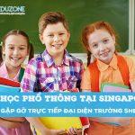 Gặp gỡ phỏng vấn học bổng trung học – Trường Shelton Singapore