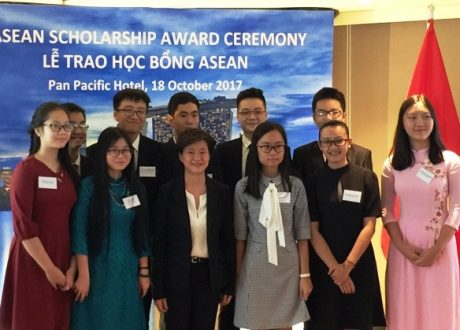 Chỉ có 12 học sinh đạt được học bổng Asean 2017/2018