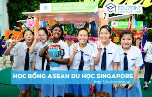 Học bổng Asean, học bổng trung học asean du học singapore