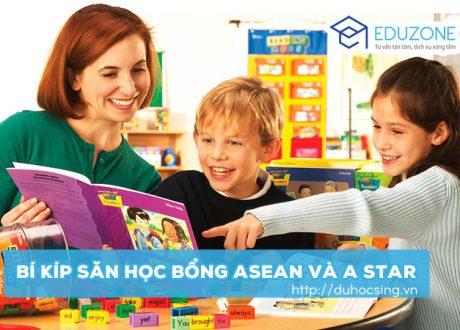 """""""Bí kíp"""" giành Học bổng Asean và A star Du học Singapore"""