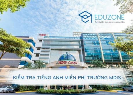 Đăng ký kiểm tra tiếng Anh miễn phí trường MDIS Singapore (14/5/2016)