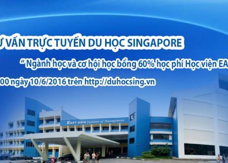 Du học Singapore: Hỏi đáp trực tuyến với đại diện tuyển sinh Học viện EASB