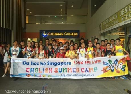 Hình ảnh du học hè Singapore 2016 (cập nhật liên tục)