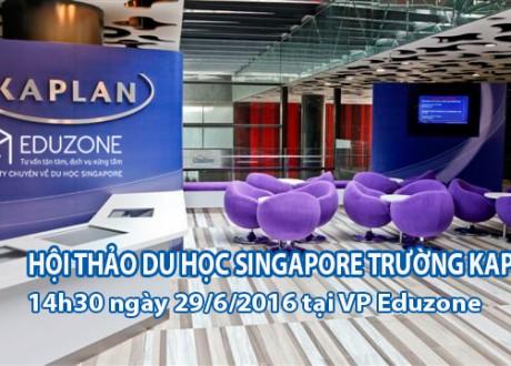 Hội thảo: Gặp gỡ trực tiếp đại diện trường Kaplan, Singapore