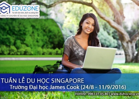 Tuần lễ tư vấn du học Singapore – Trường James Cook (24/8 – 11/9/2016)