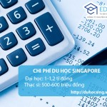 Chi phí du học Singapore hết bao nhiêu tiền?