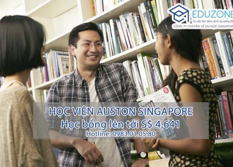 Học bổng lên đến $4,641 tại Auston – Học viện quản lý hàng đầu Singapore