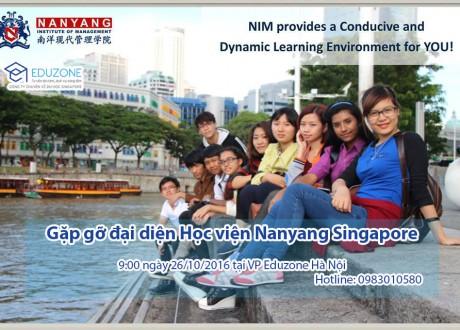 Gặp gỡ đại diện tuyển sinh Học viện Nanyang Singapore