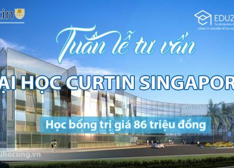 Tuần lễ du học Singapore tại trường Đại học Công lập Curtin Singapore