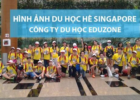 Hình ảnh đoàn du học hè Singapore 2016