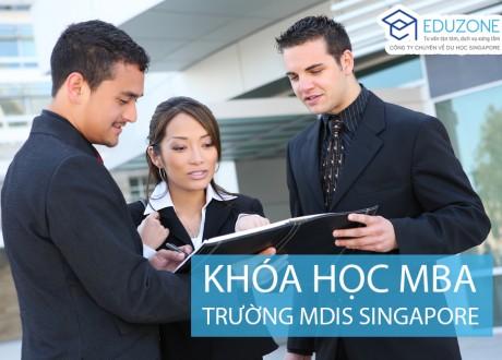 Khóa học MBA tại trường Học viện MDIS Singapore