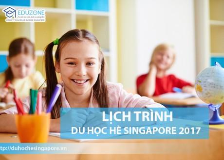 Lịch trình du học hè Singapore 2017