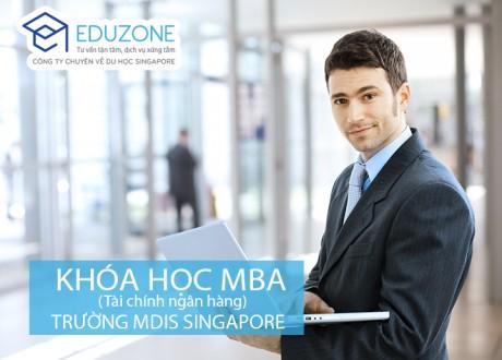 MBA chuyên ngành Tài chính ngân hàng của trường MDIS Singapore