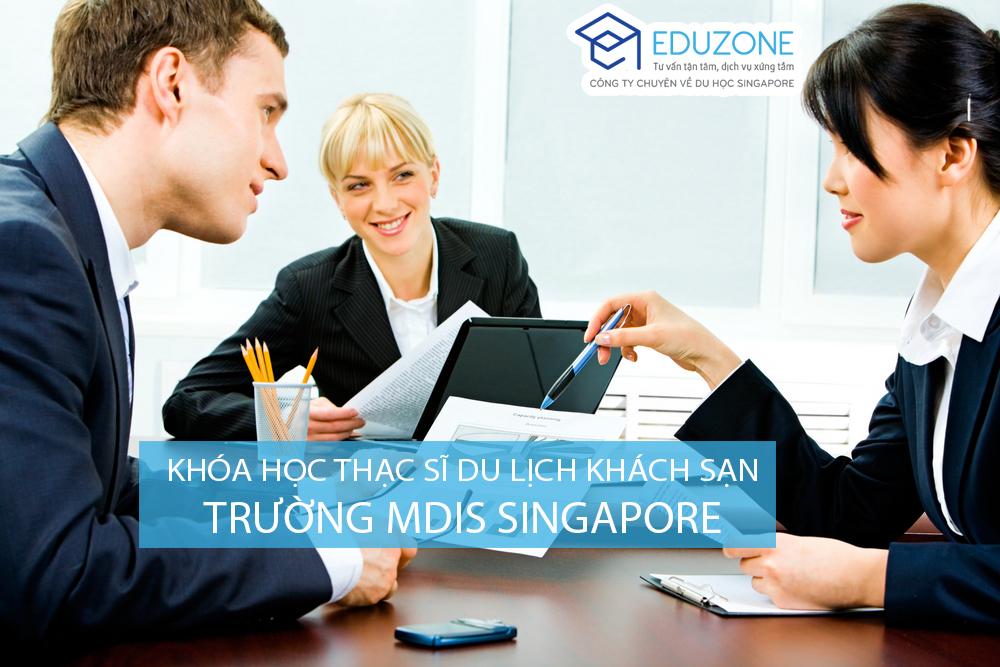 Thạc sĩ du lịch khách sạn MDIS Singapore