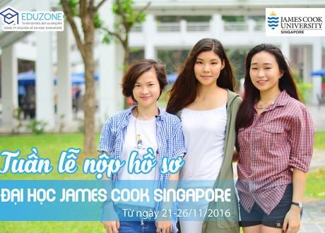 Tuần lễ tư vấn du học Singapore – Trường Đại học James Cook 21/11 – 26/11/2016