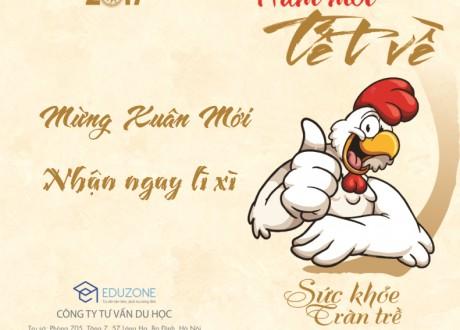 Mừng xuân Đinh Dậu, nộp hồ sơ du học Singapore nhận ngay lì xì 1 triệu đồng
