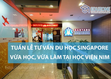 Tuần lễ du học Singapore: Chương trình thực tập có lương tại Học viện NIM