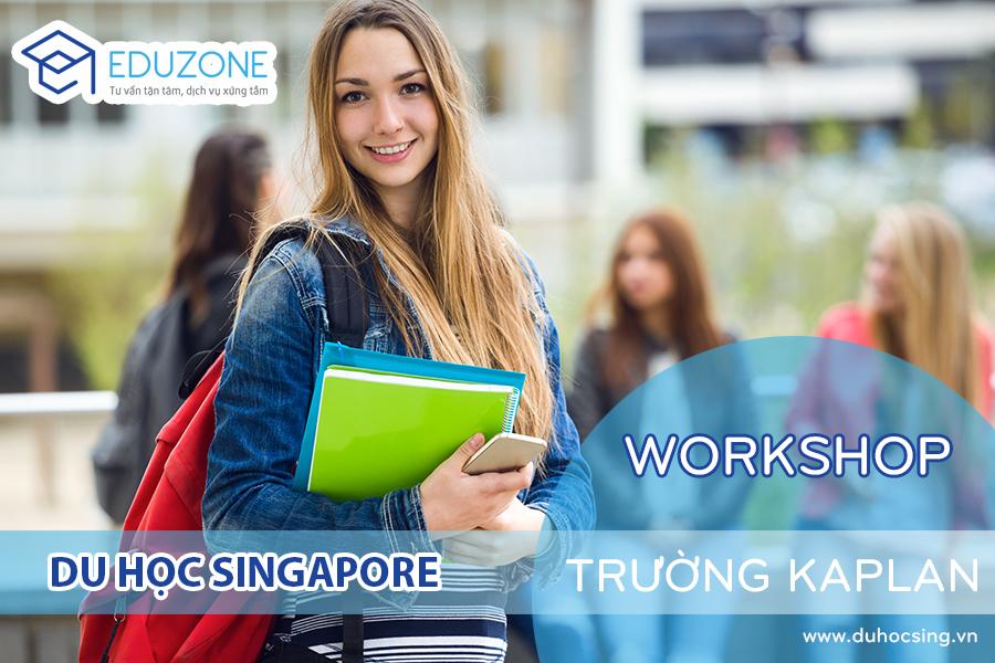 Workshop: Trao đổi trực tiếp với đại diện trường Kaplan Singapore tại TP.HCM