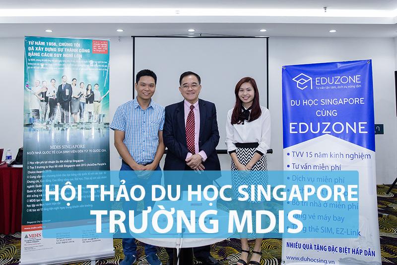 Tiến sĩ Eric Kuan trong một lần tham gia hội thảo với Eduzone tại Việt Nam