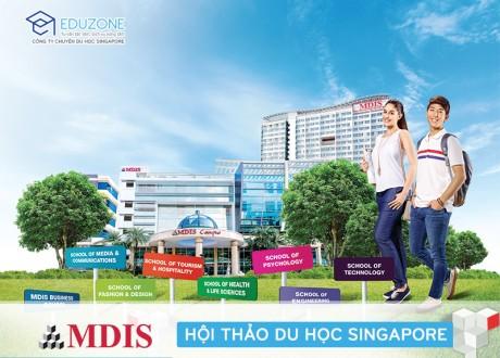 Gặp gỡ Hiệu trưởng và phỏng vấn trực tiếp học bổng MDIS, Singapore