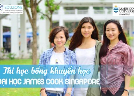 Tư vấn, hướng dẫn nộp hồ sơ học bổng 100% tại JCU Singapore